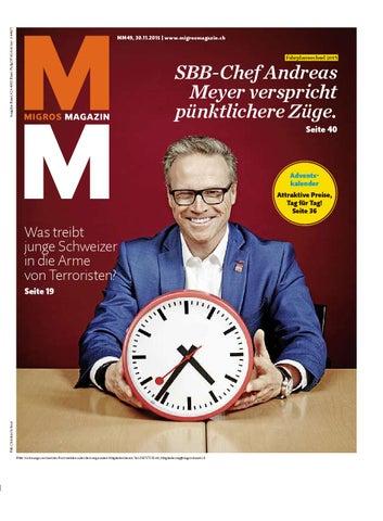 Migros magazin 49 2015 d bl by Migros-Genossenschafts-Bund - issuu