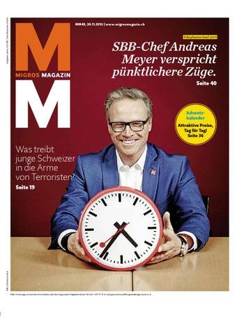 Migros magazin 49 2015 d lu by Migros-Genossenschafts-Bund - issuu