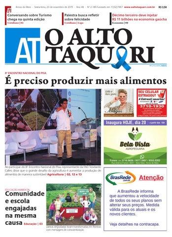 795f6a4647232 Jornal O Alto Taquari - 20 de novembro de 2015 by Jornal O Alto ...