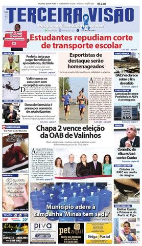 df636176f5 E1189 de 26 11 2015 by Jornal Terceira Visão - issuu