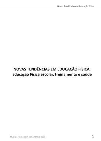 02d6a2be5d1b8 Novas Tendências em Educação Física by Rogerio Manea - issuu