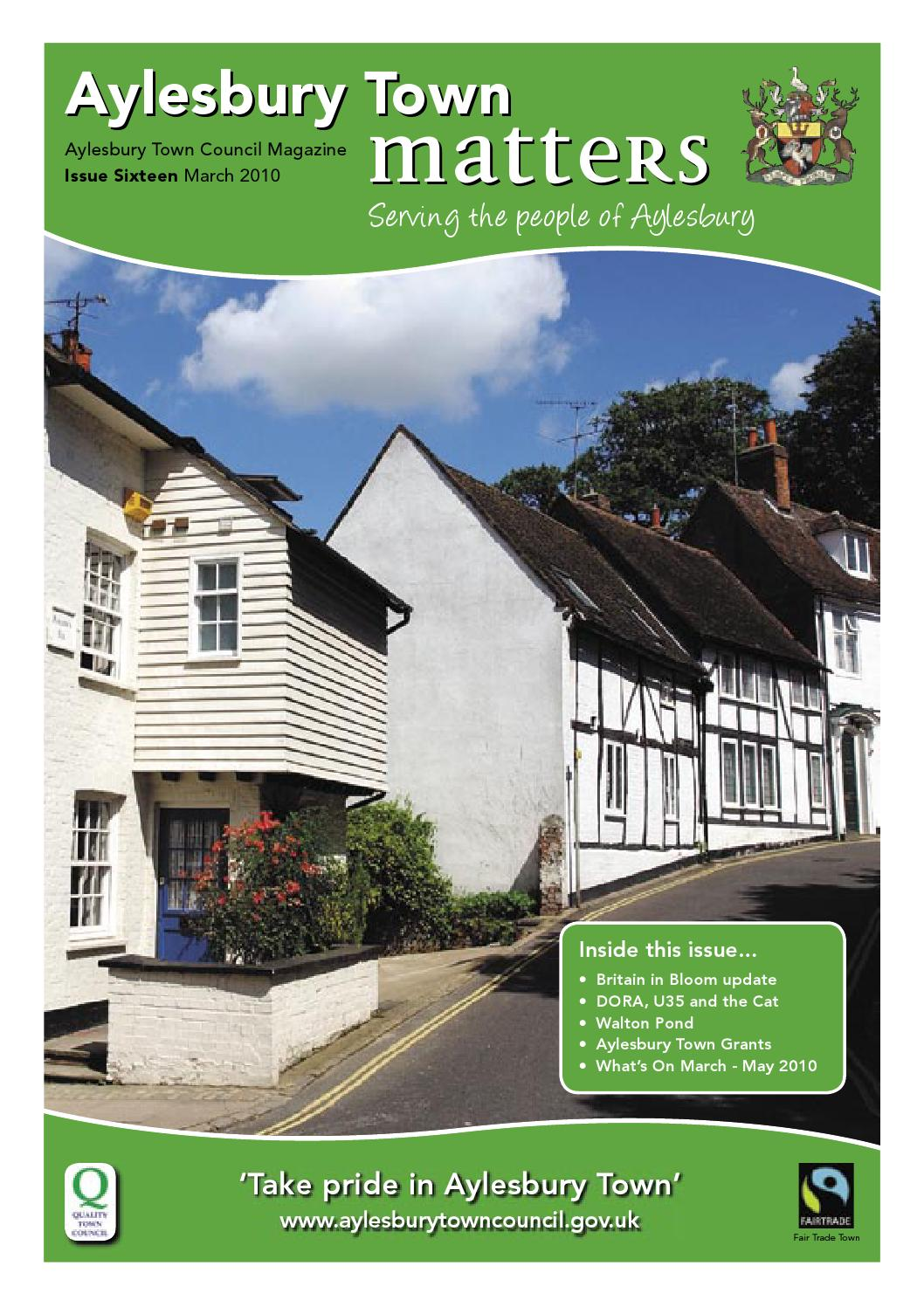Aylesbury Town Matters Issue 16 By