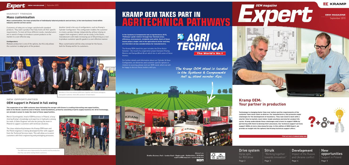 Oem Expert Magazine By Kramp 2015 3 Uk English By Kramp