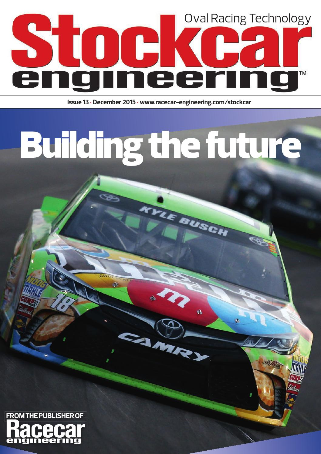 Stockcar Engineeering November 2015 By The Chelsea Magazine Company Diagram Of Downforce Generated Raked Underbody Issuu