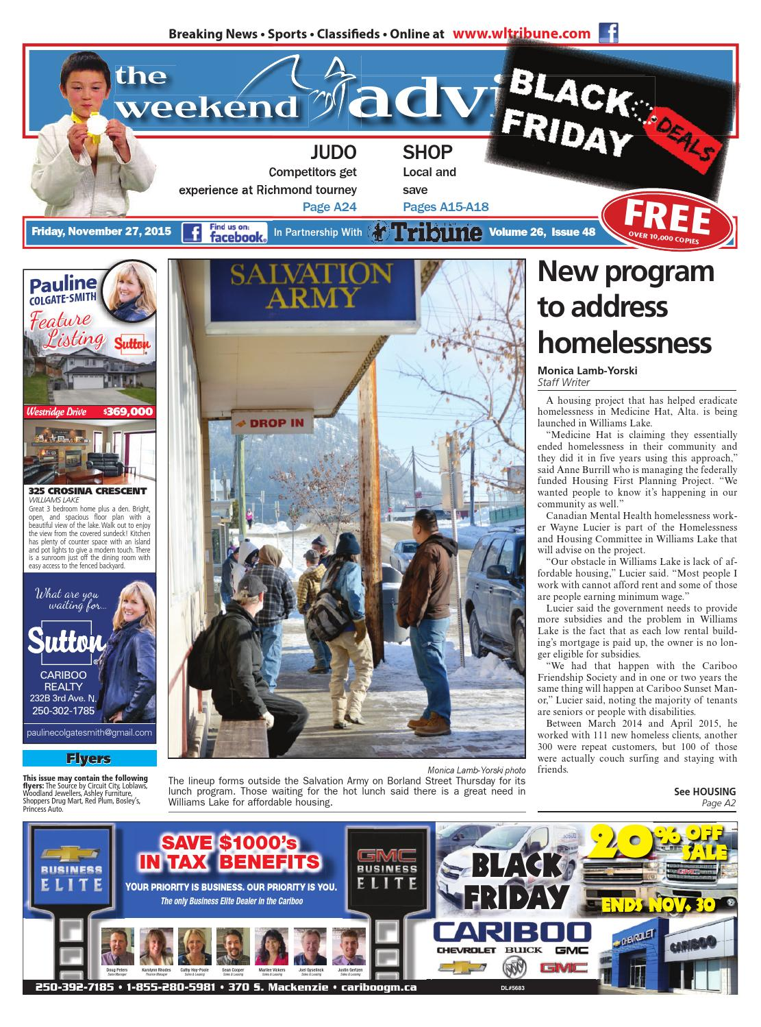 Williams Lake Tribune November 27 2015 By Black Press Issuu Install A Gfci Ground Fault Circuit Interrupter Kitchen Delight