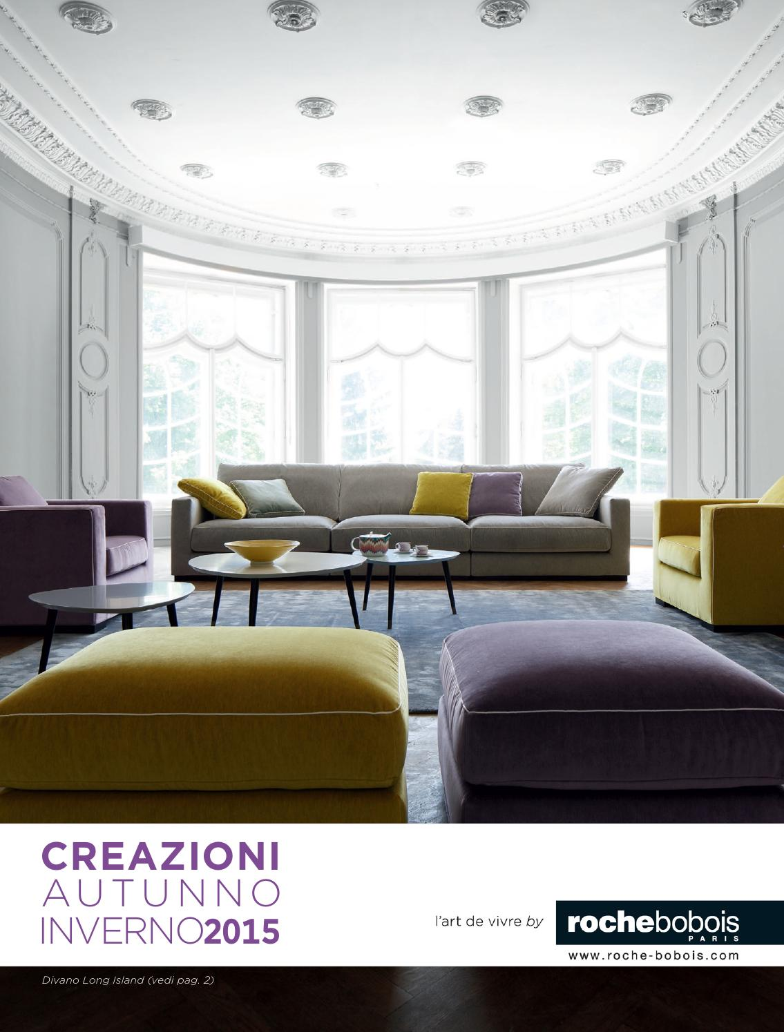 Roche bobois catalogue autunno2015 by Mobilpro - issuu