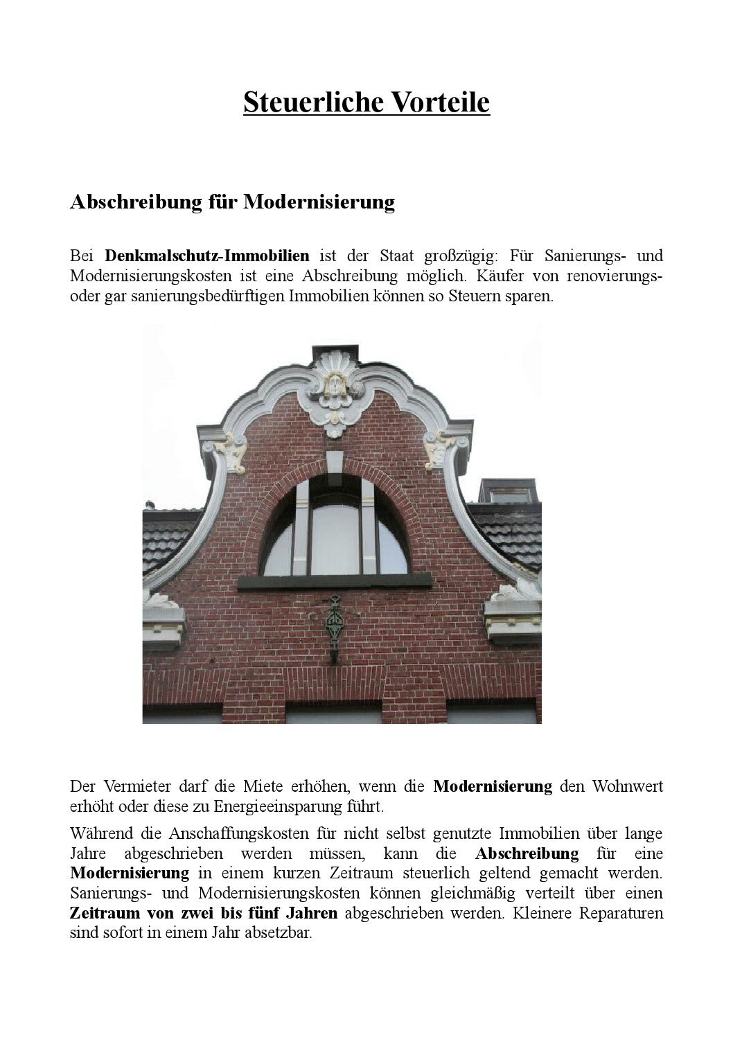 Steuern Sparen Durch Immobilien By Rainer Erhard Plinge Issuu