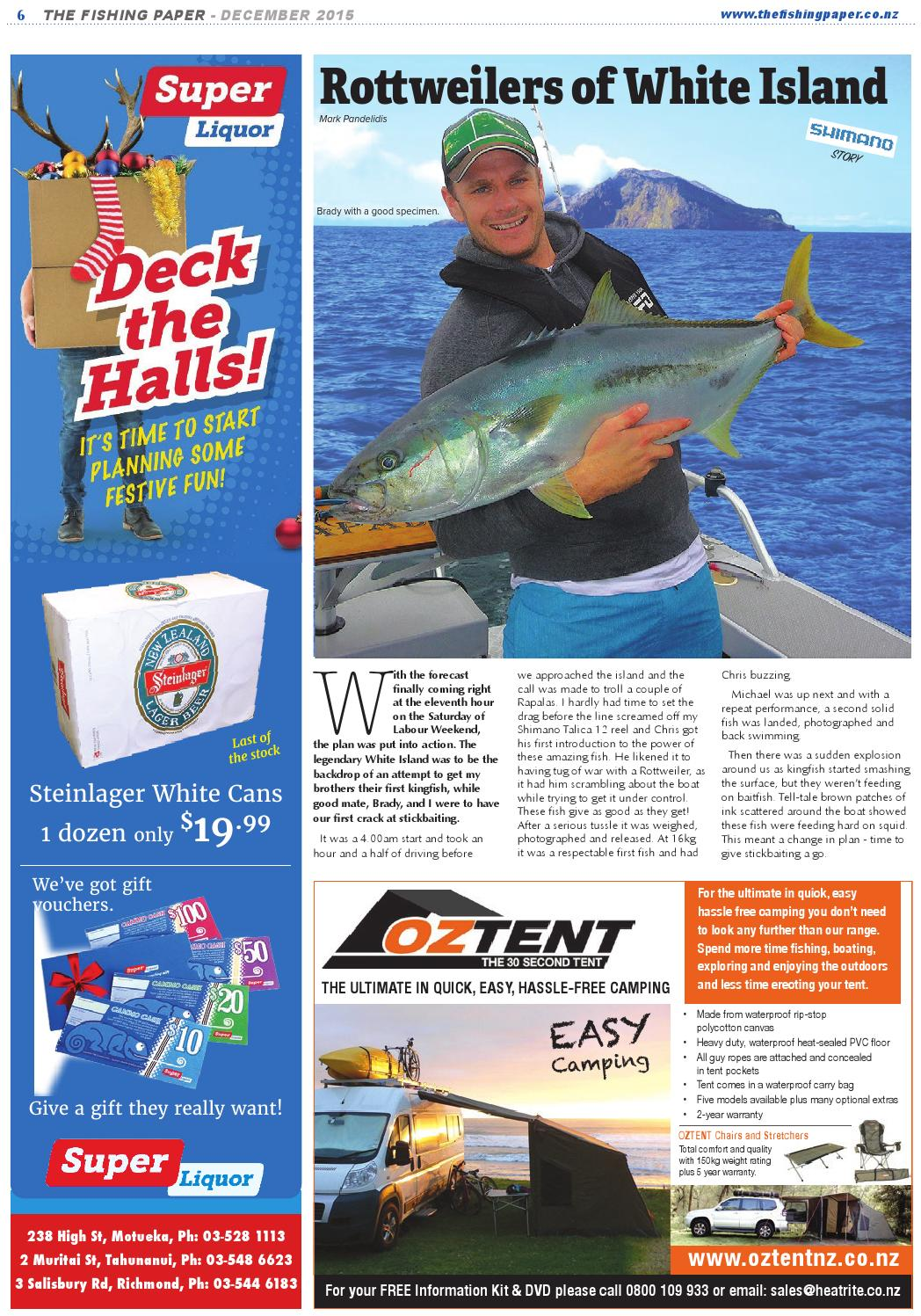 Issue 123 - The Fishing Paper & Hunting News by The Fishing Paper