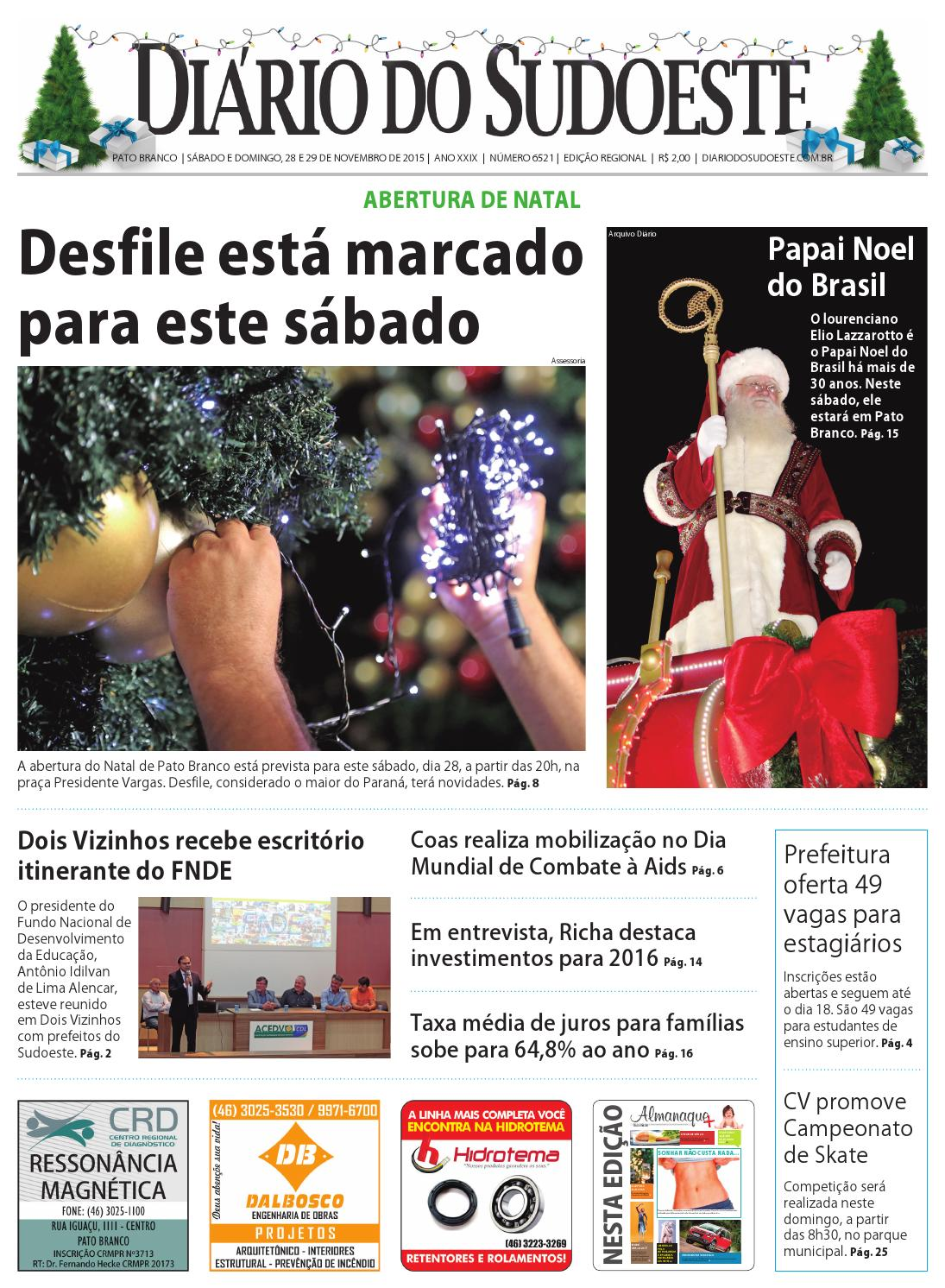 44ed182ab6a5f Diário so sudoeste 28 e 29 de novembro de 2015 ed 6521 by Diário do  Sudoeste - issuu