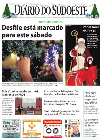 Diário so sudoeste 28 e 29 de novembro de 2015 ed 6521 by Diário do ... 5c7a3c0c79