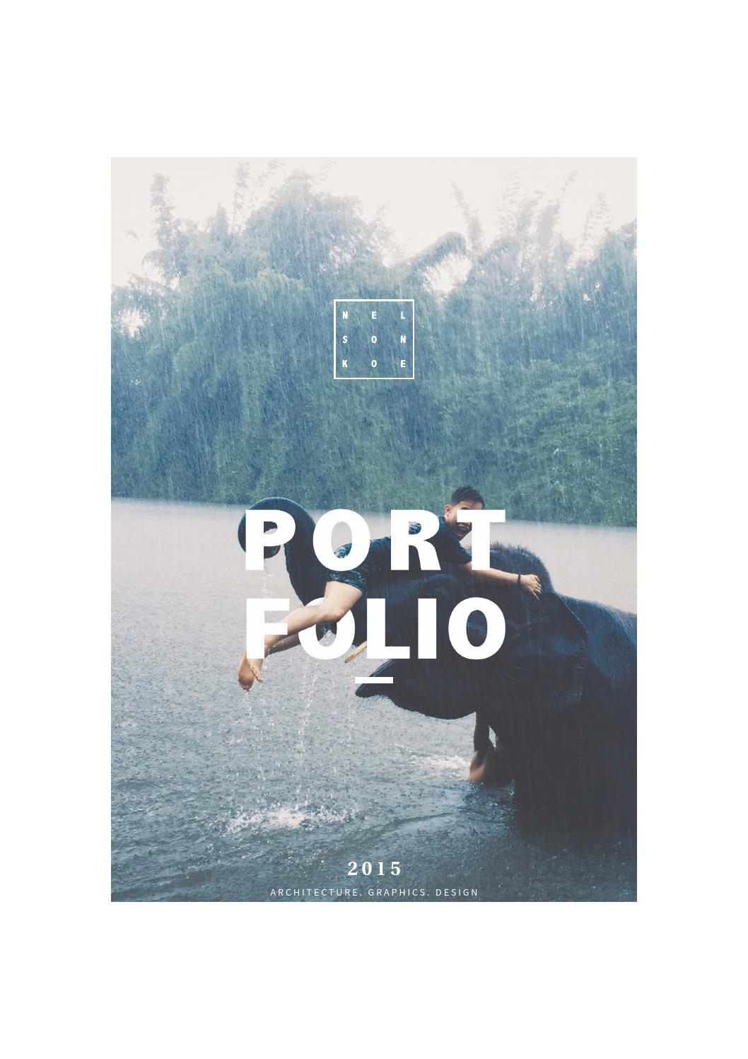 Graphic design portfolio 2015 by Nelson Koe - issuu