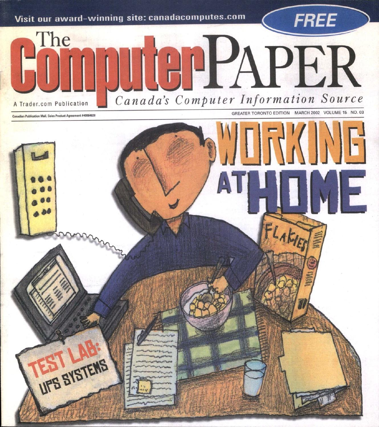 2002 03 the computer paper ontario edition by the for Oum document templates
