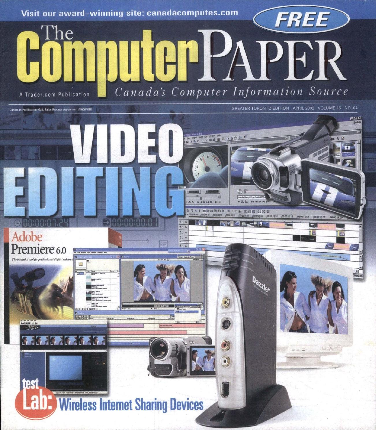 2002 04 The Computer Paper - Ontario Edition by The Computer Paper