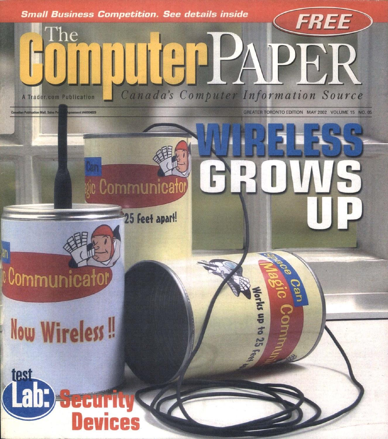 2002 05 The Computer Paper Ontario Edition By The Computer Paper Issuu