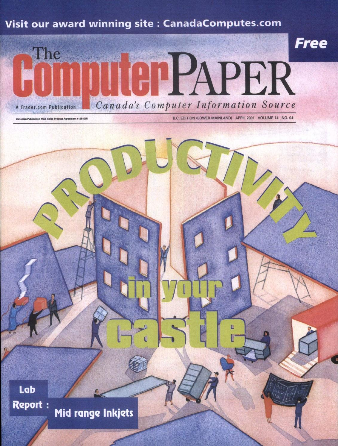 2001 04 The Computer Paper - BC Edition by The Computer