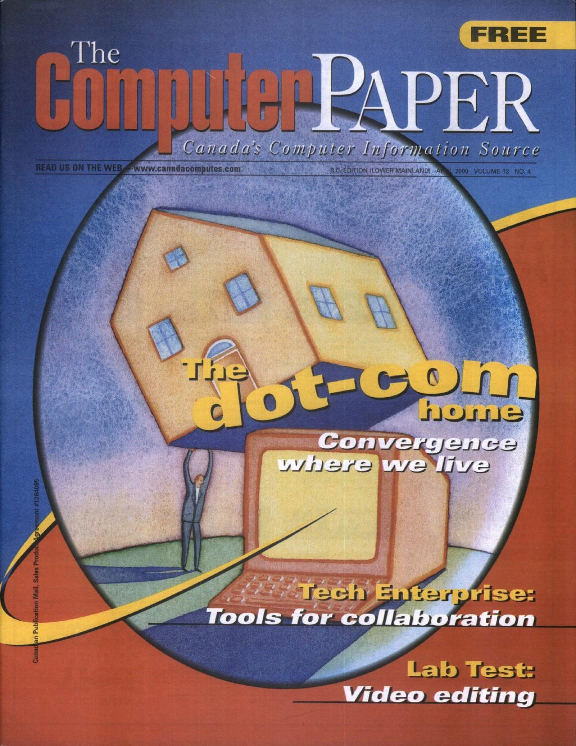 dbac592b6 2000 04 The Computer Paper - BC Edition by The Computer Paper - issuu
