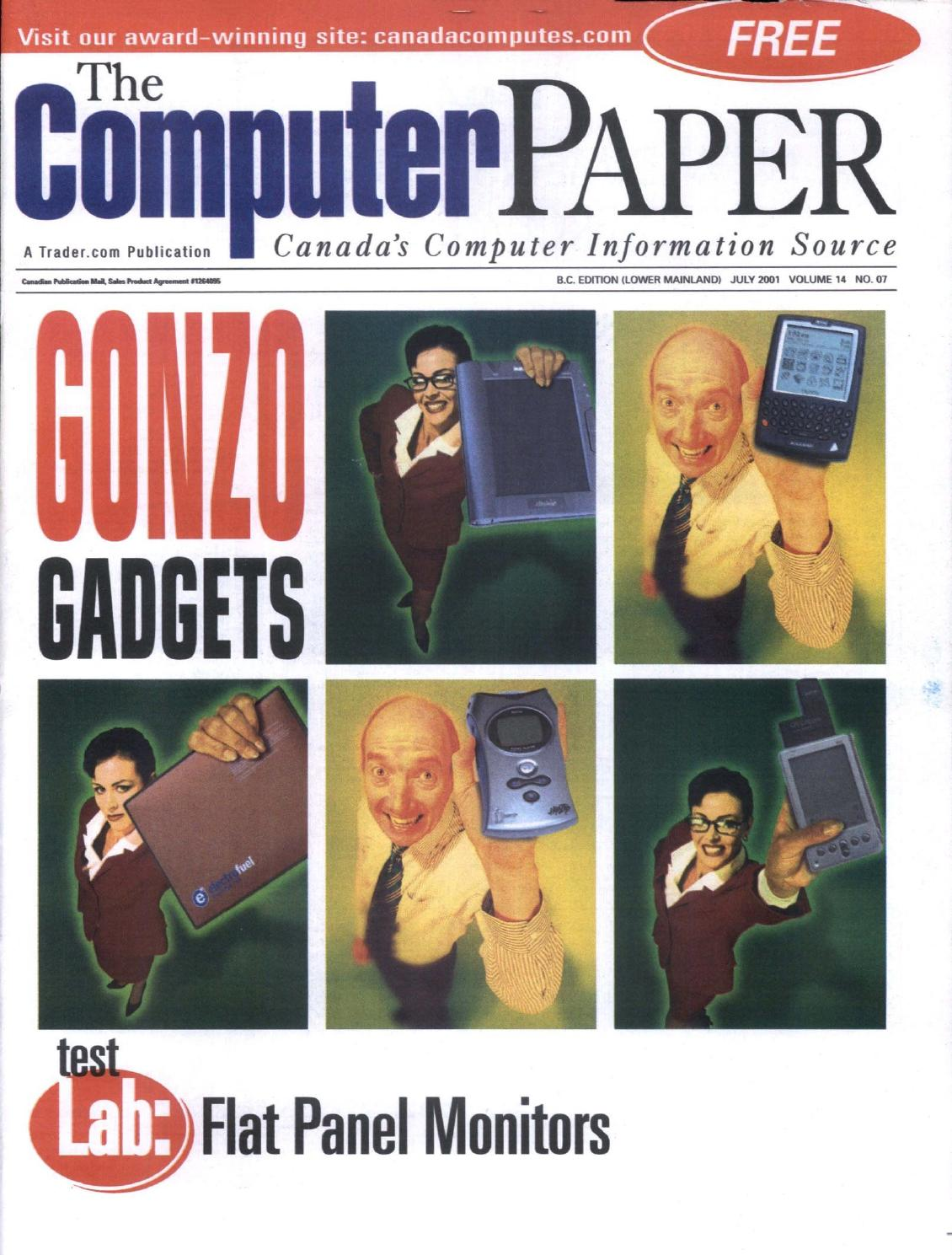 2001 07 The Computer Paper Bc Edition By Issuu Mdisk Usb Hub 7 Port With On Off And Led F195