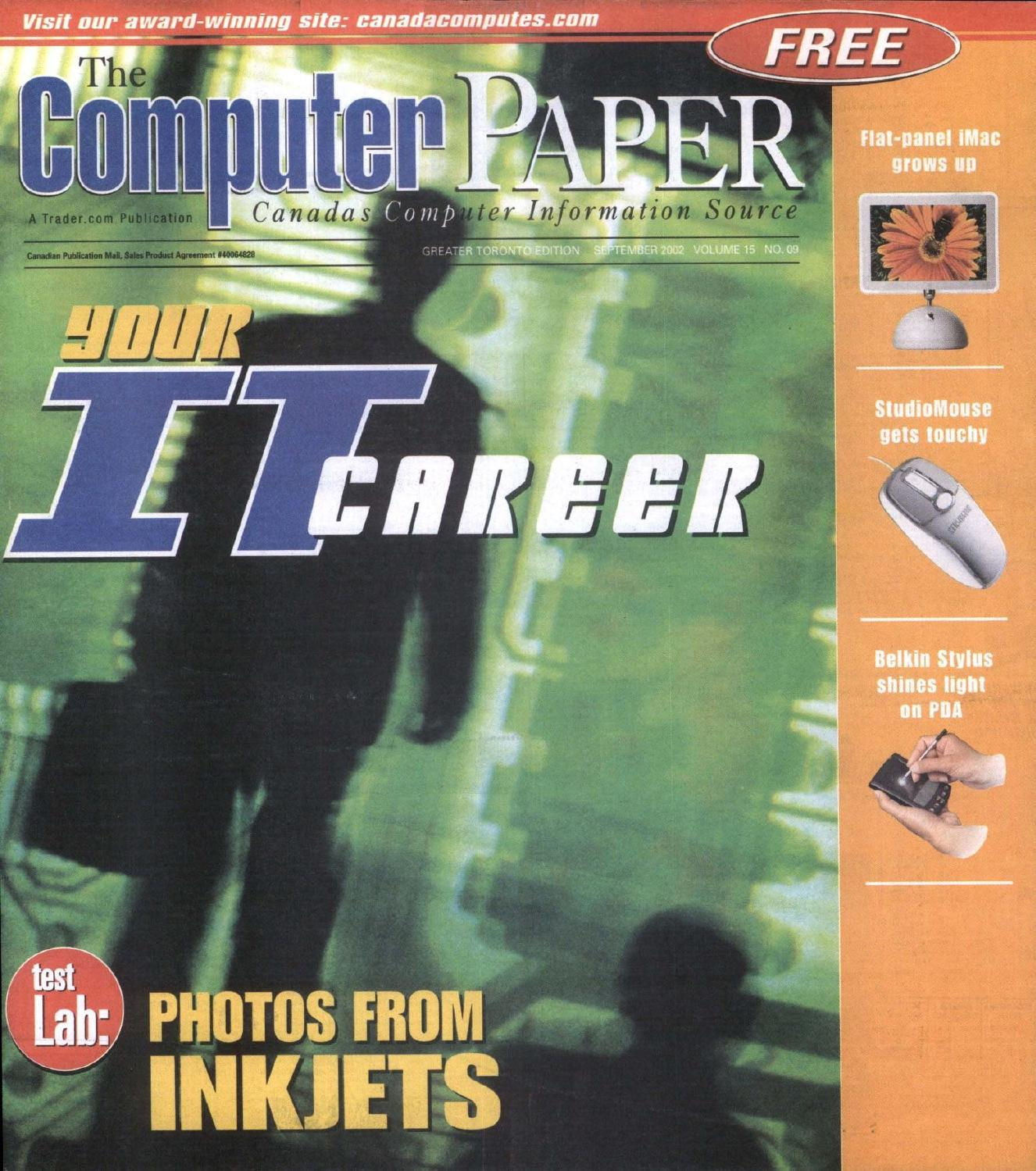 216496353bd 2002 09 The Computer Paper - Ontario Edition by The Computer Paper - issuu