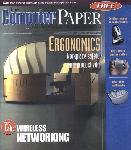 2002 11 The Computer Paper - Ontario Edition by The Computer