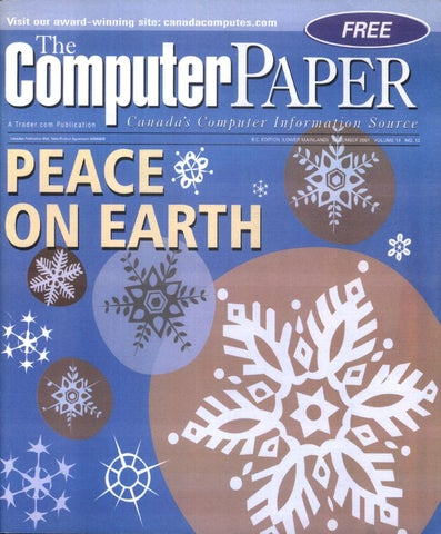 2001 12 The Computer Paper - BC Edition by The Computer Paper - issuu