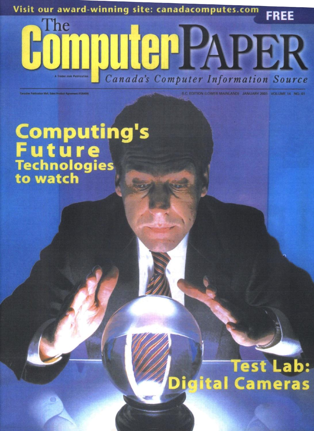 2001 01 The Computer Paper Bc Edition By Issuu Log On Car Charger Mobil Run 24a Smart Ic Lo Sv12 Black