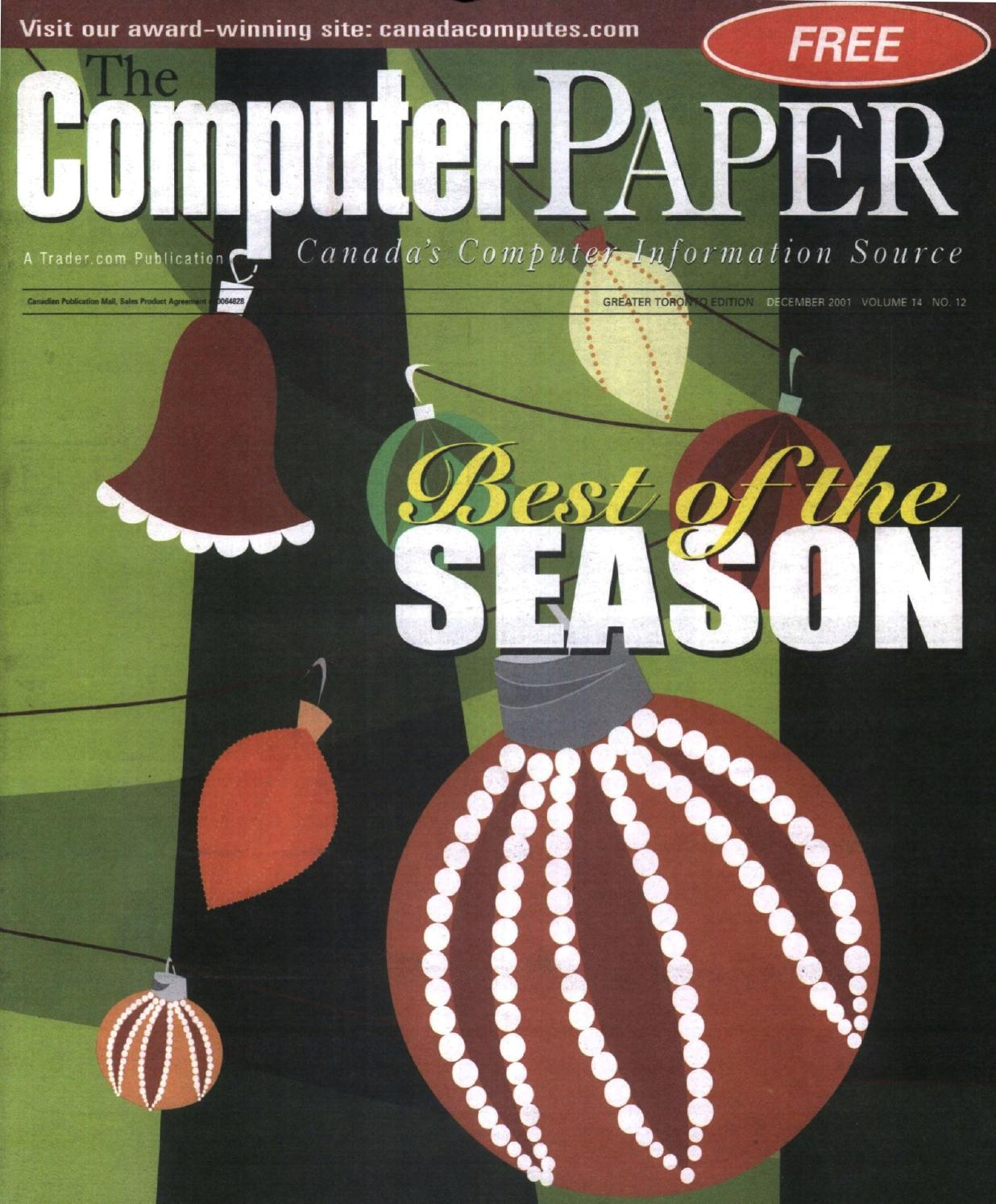 2001 12 The Computer Paper Ontario Edition By 400 X 385 62 Kb Jpeg Colt Model 1911a1 Parts Diagram Http Www Issuu