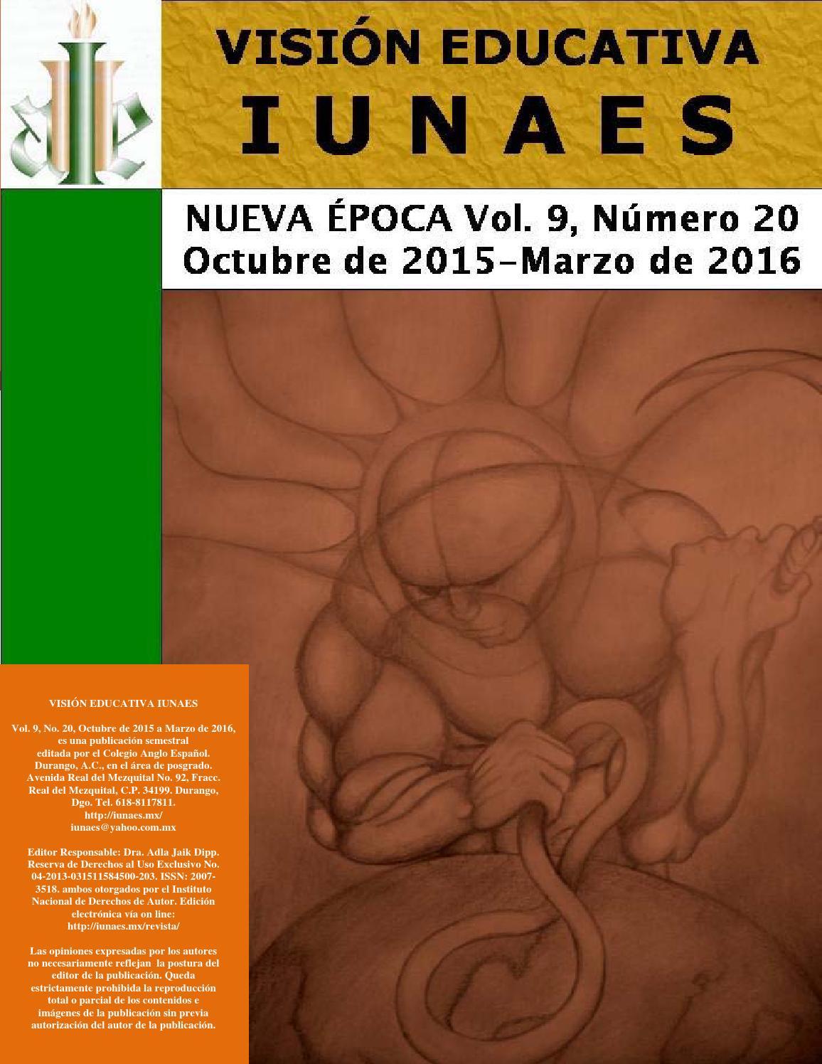 Revista vision educativa 20 2 by cife centro universitario issuu urtaz Images