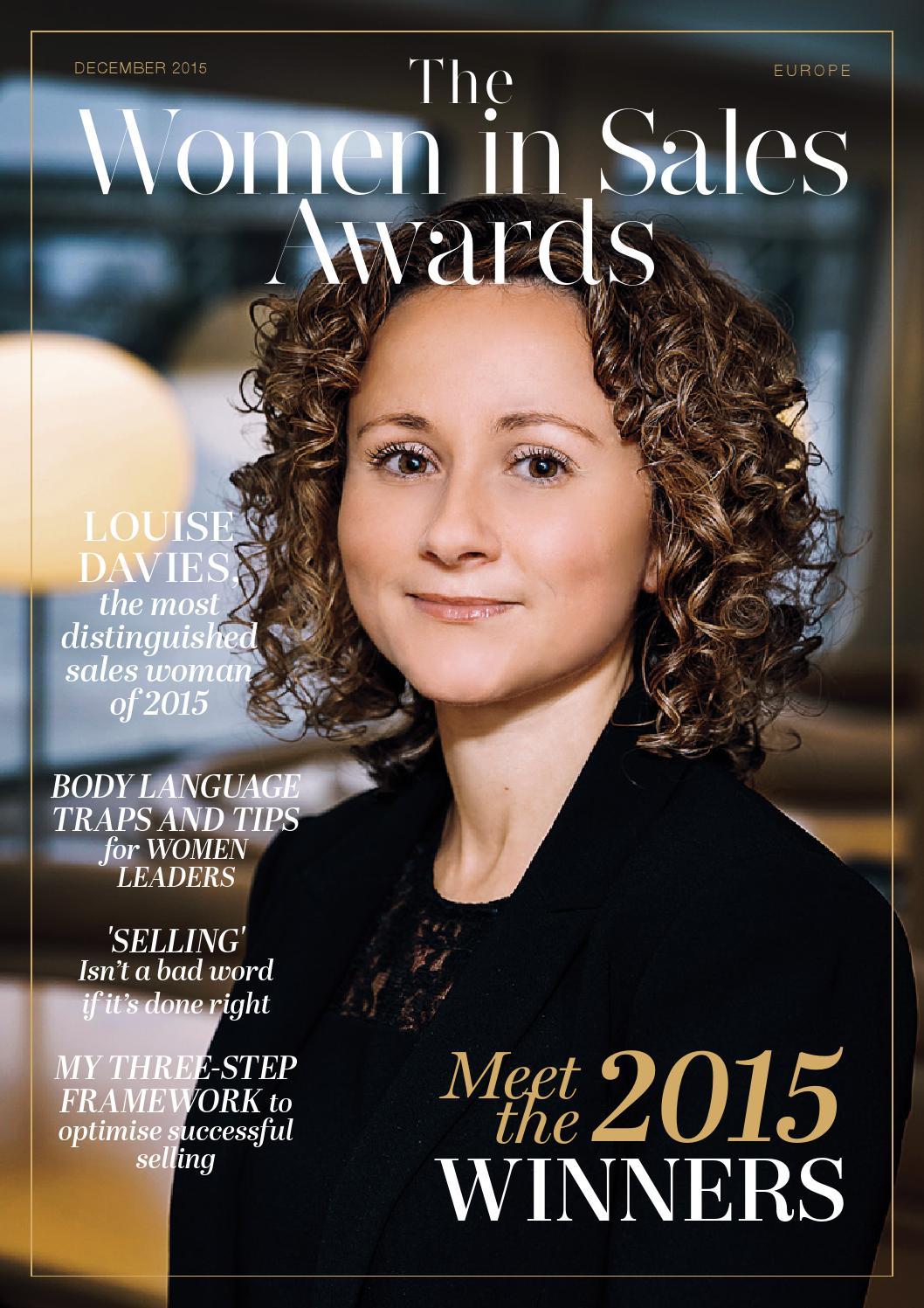 Women In Sales Awards 2015 Europe By Zars Media - Issuu-5120