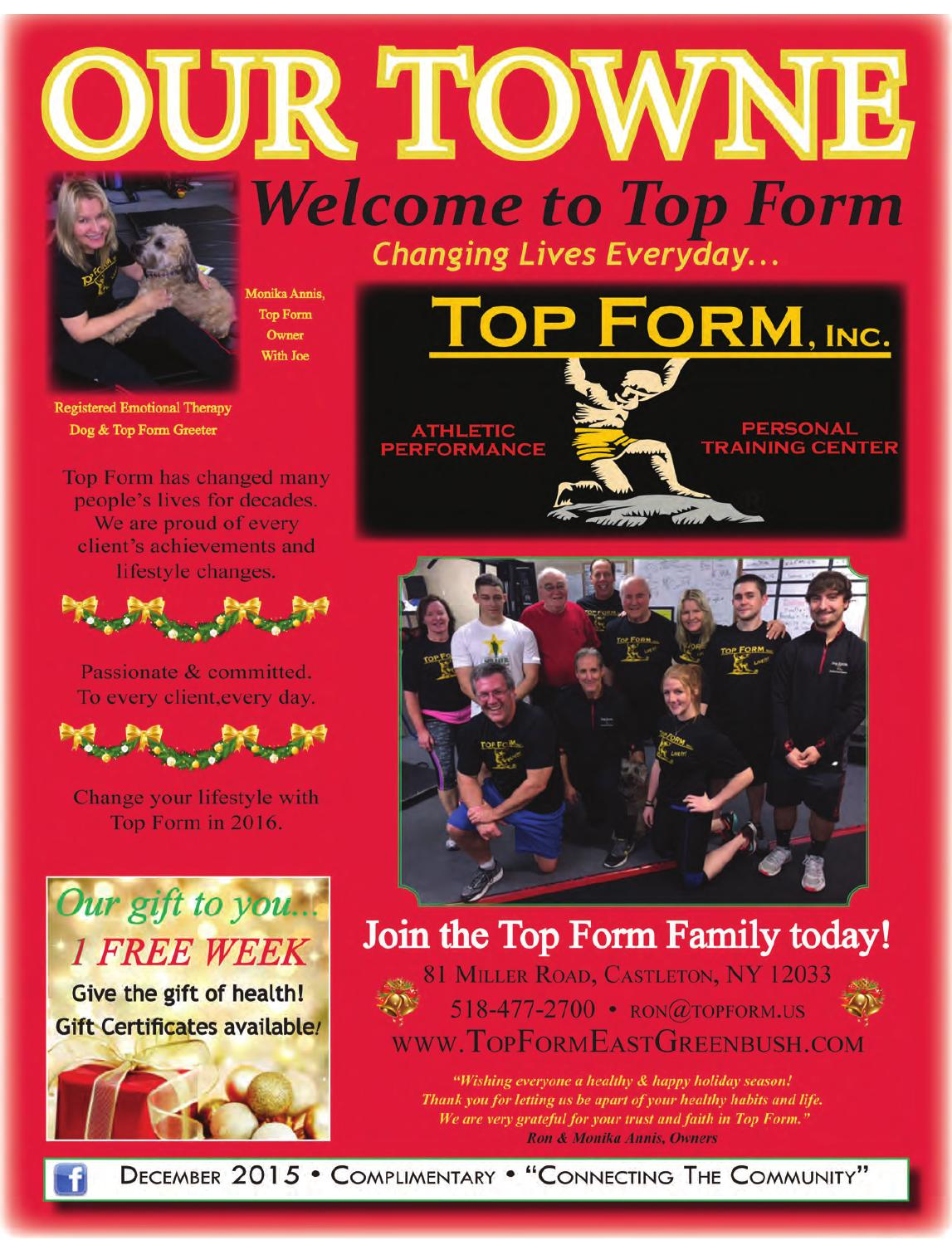 Our Towne Rensco - December 2015 Edition by Jennifer - issuu