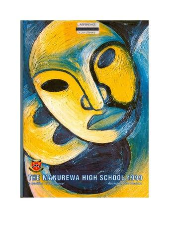 Magazine 1999 By Manurewa High School Issuu