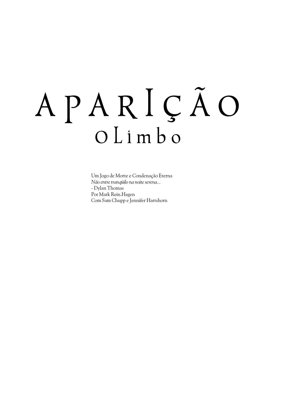 42f319c893 Aparição o Limbo by Werban Freitas - issuu