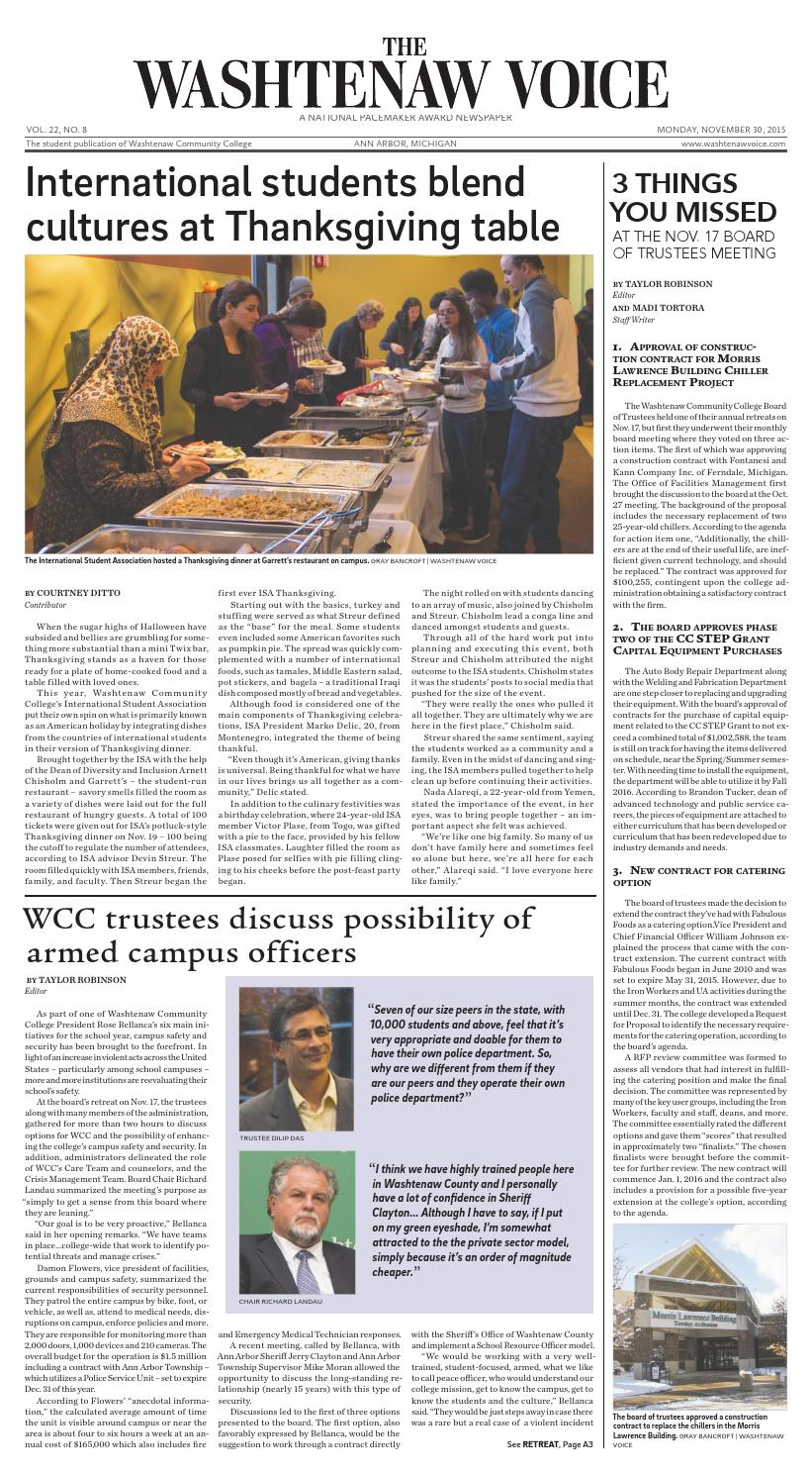 The Washtenaw Voice 11-30-2015 by The Washtenaw Voice - issuu