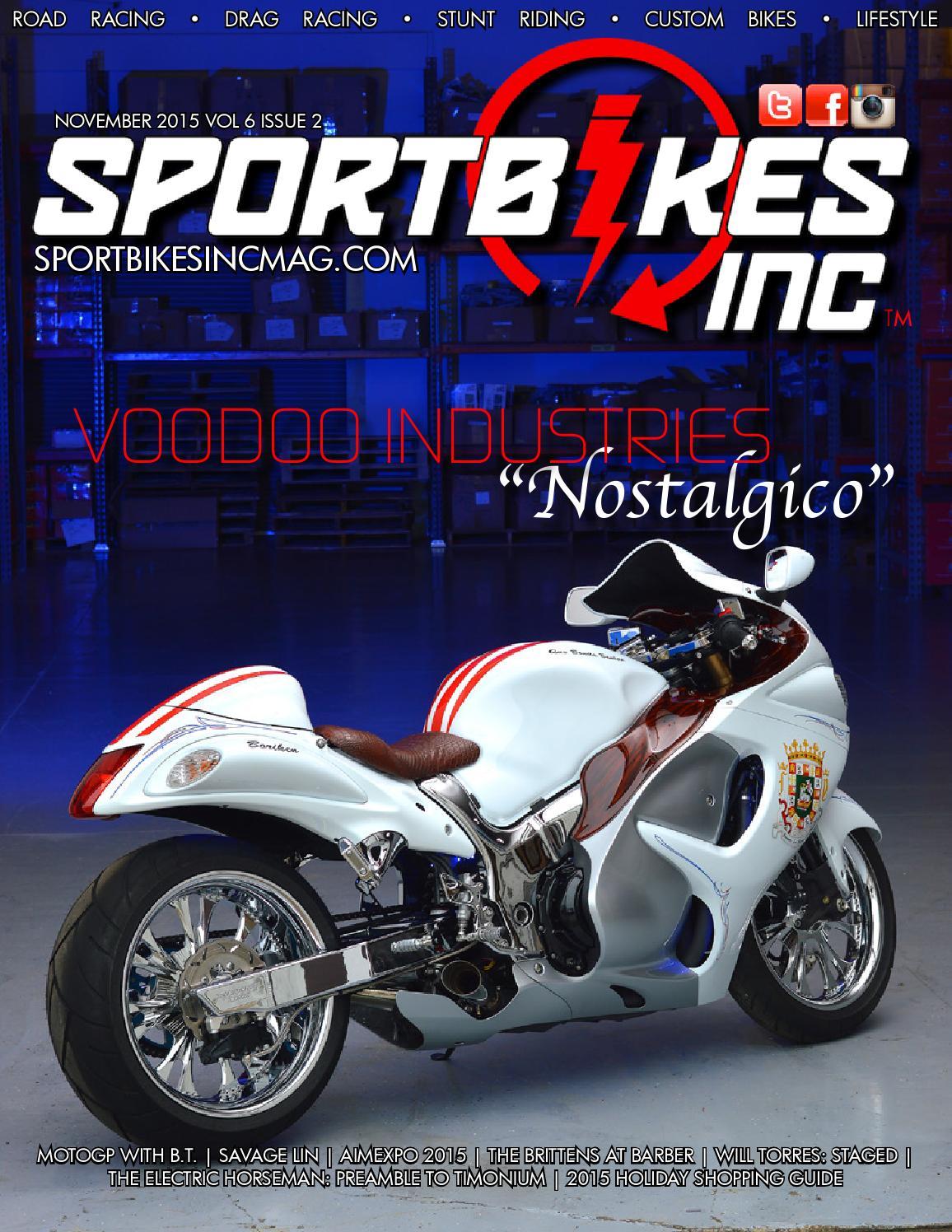 SportBikes Inc Magazine November 2015 by Hard Knocks Motorcycle  Entertainment - issuu