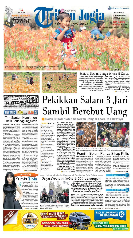 Tribunjogja 28 11 2015 By Tribun Jogja Issuu Produk Ukm Bumn Baju Muslim Anak Laki Dannis Nomor 10 Abu