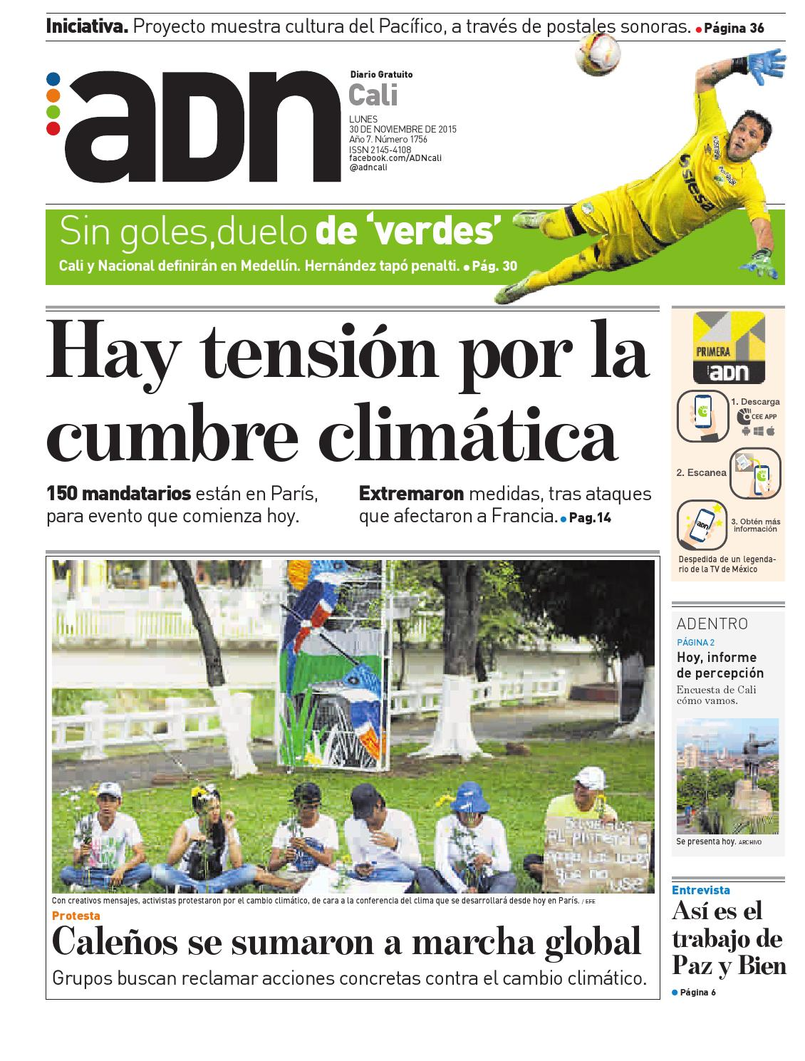 ADN Cali 30 de noviembre by diarioadn.co - issuu