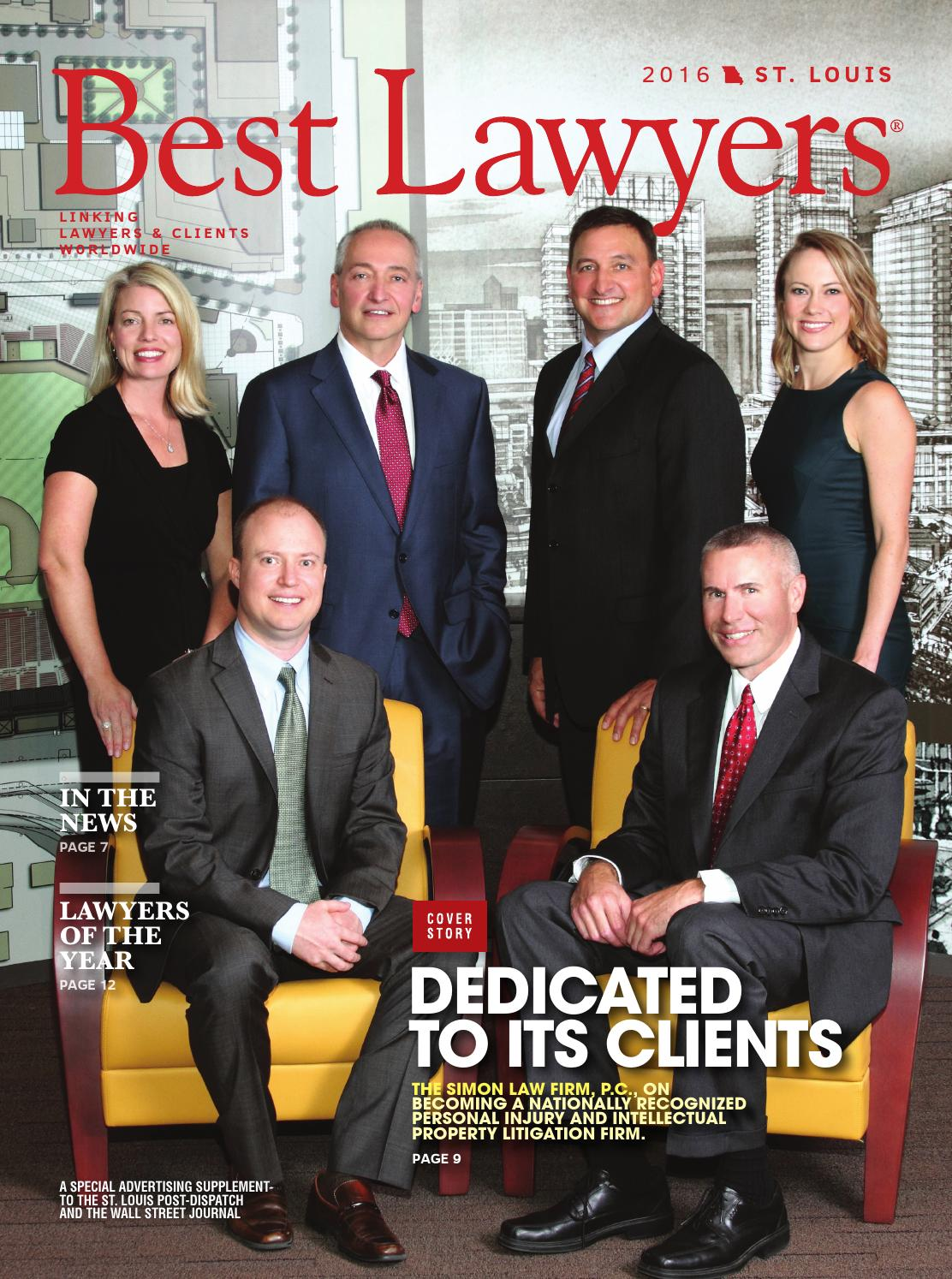 Best Lawyers in St. Louis 2016 by Best Lawyers - Issuu - photo#41