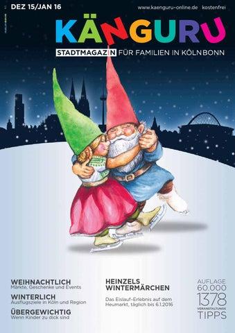 KÄNGURU Stadtmagazin für Familien in Köln Bonn Dezember 15 / Januar ...