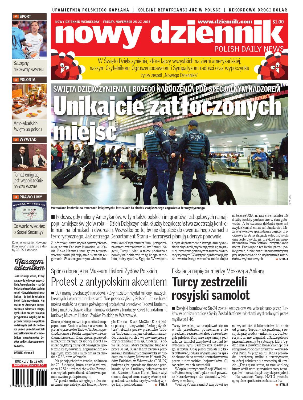Nowy Dziennik 20151125 By Nowy Dziennik Issuu