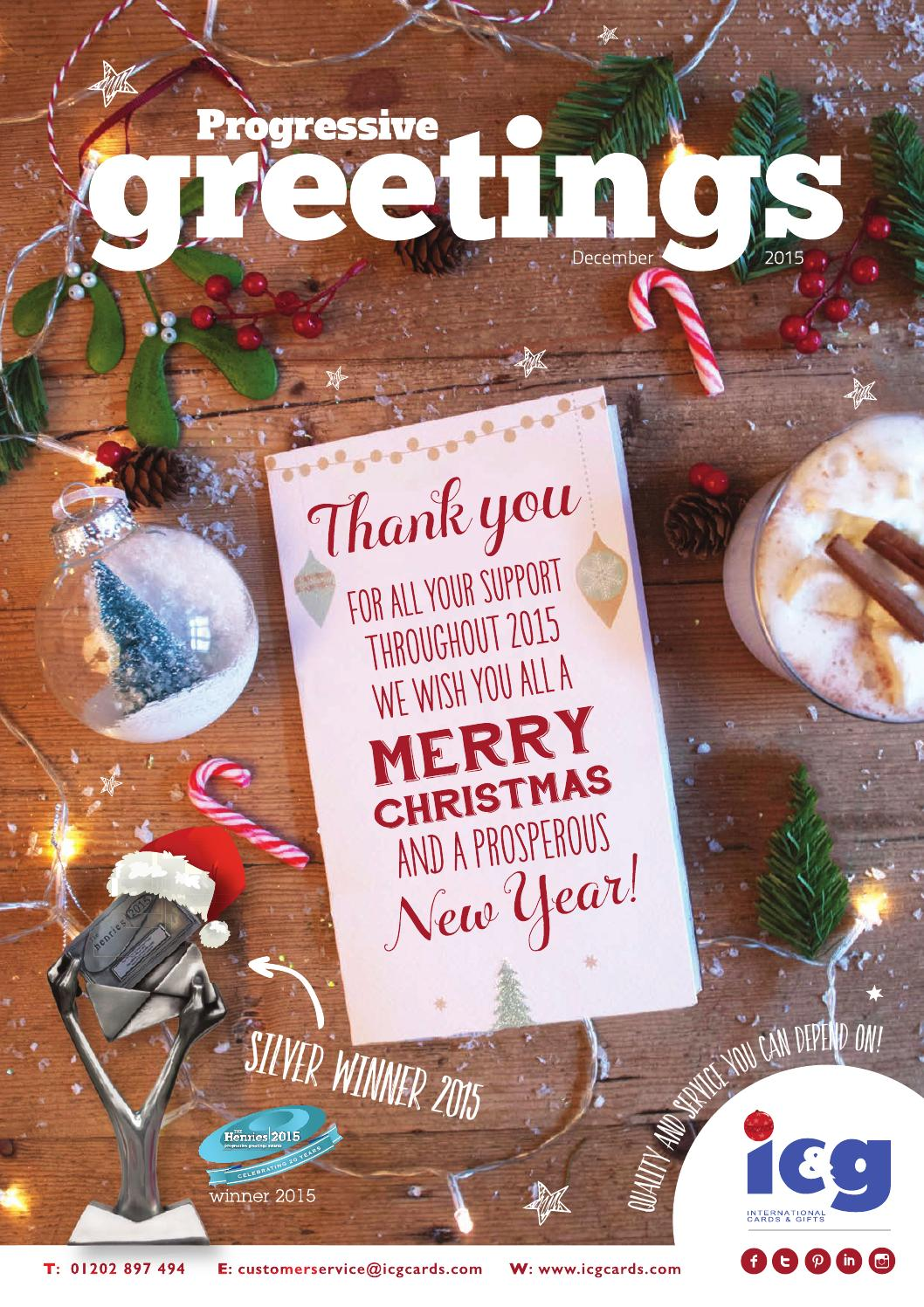 Progressive Greetings December 2015 by Max Publishing - issuu