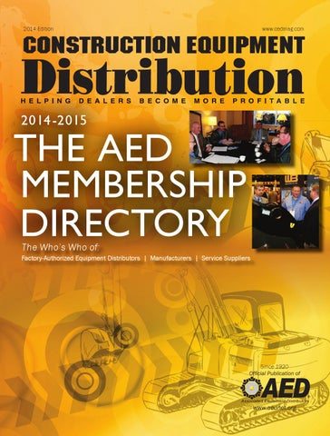 347645 May 2014 By Associated Equipment Distributors Issuu