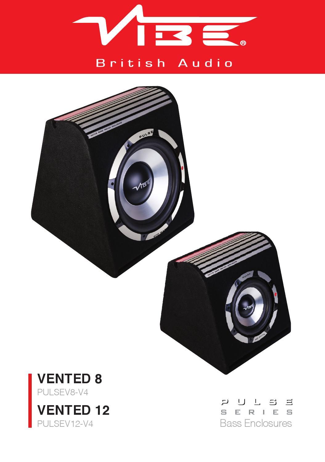 Vibe Optisound Auto 8 Wiring Diagram Kit Instructions Pulse V12 V8 Manual By Audio Issuu Diagrams Isuzu Ignition Switch