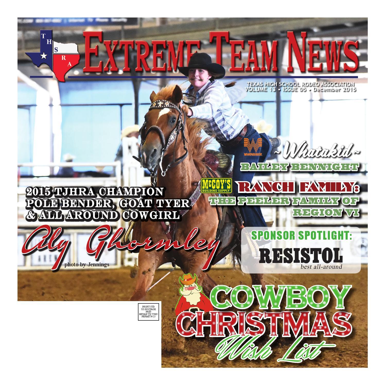 December 2015 Extreme Team News Official News Of Texas