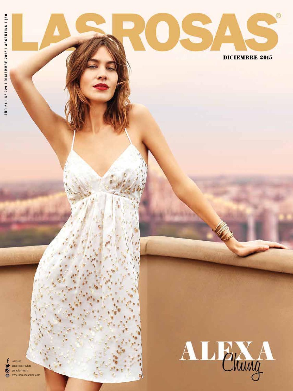 9a78e480e58 Alexa Chung - Edición 229 by Revista Las Rosas - issuu
