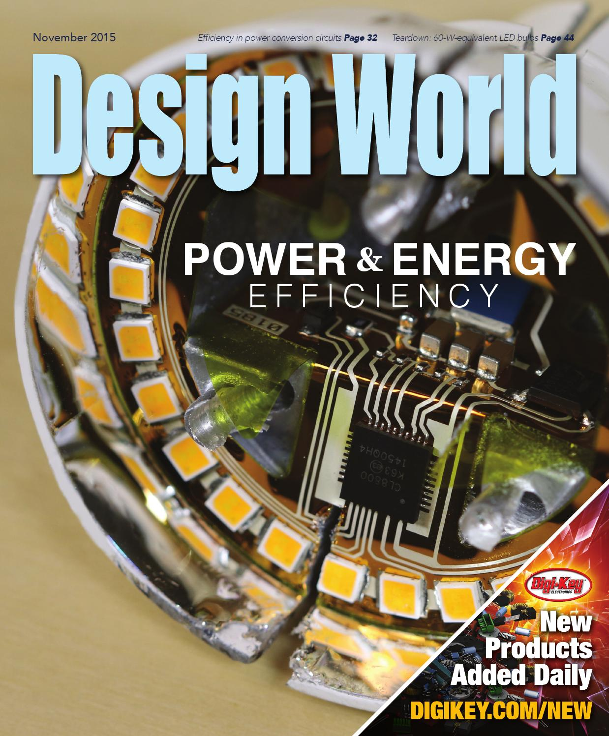 Design World Ee Network Power And Energy Efficiency Handbook By Circuits Microwave Amplifiers Known Good Die Lm Series From Wtwh Media Llc Issuu