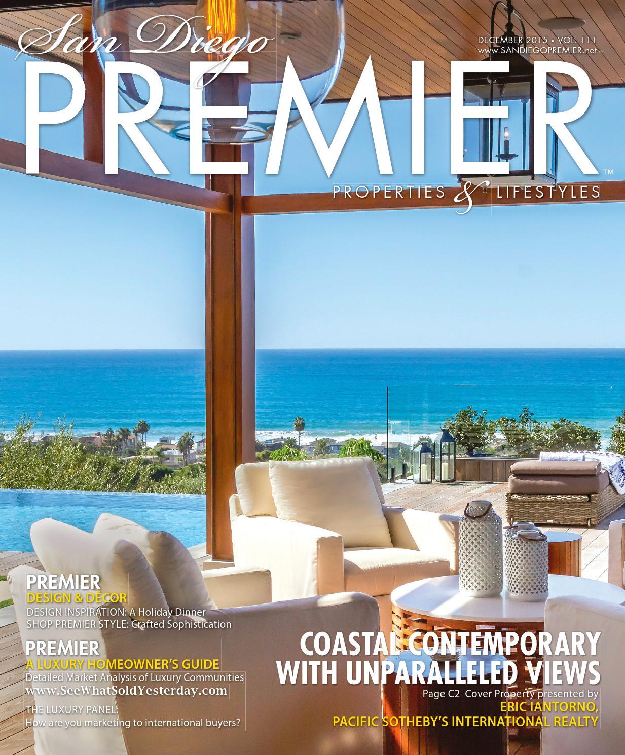 San Diego PREMIER Dec 2015 Vol 111 by San Diego PREMIER - issuu