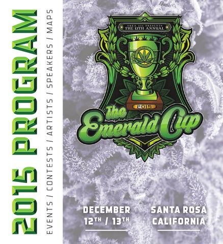 4e52f9dd6ab The Emerald Cup 2015 Program Guide by North Coast Journal - issuu