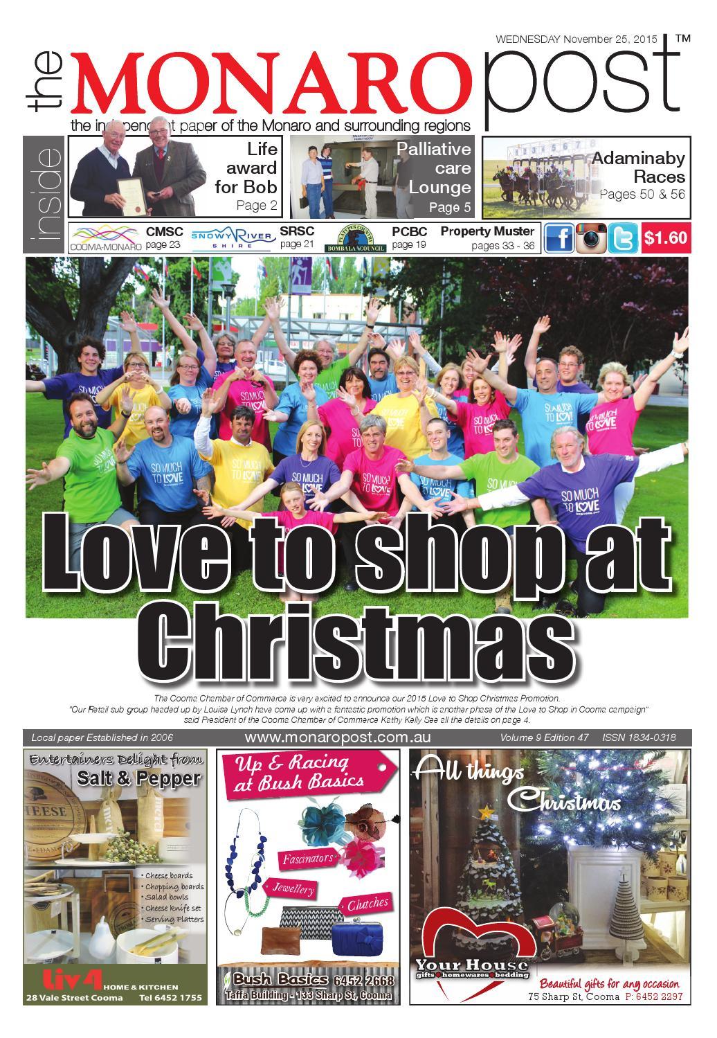 The Monaro Post 25/11/15 by Monaro Post - issuu