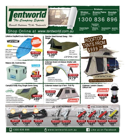 Page 1  sc 1 st  Issuu & Tentworld - Christmas Catalogue Sale by Tentworld - The Camping ...