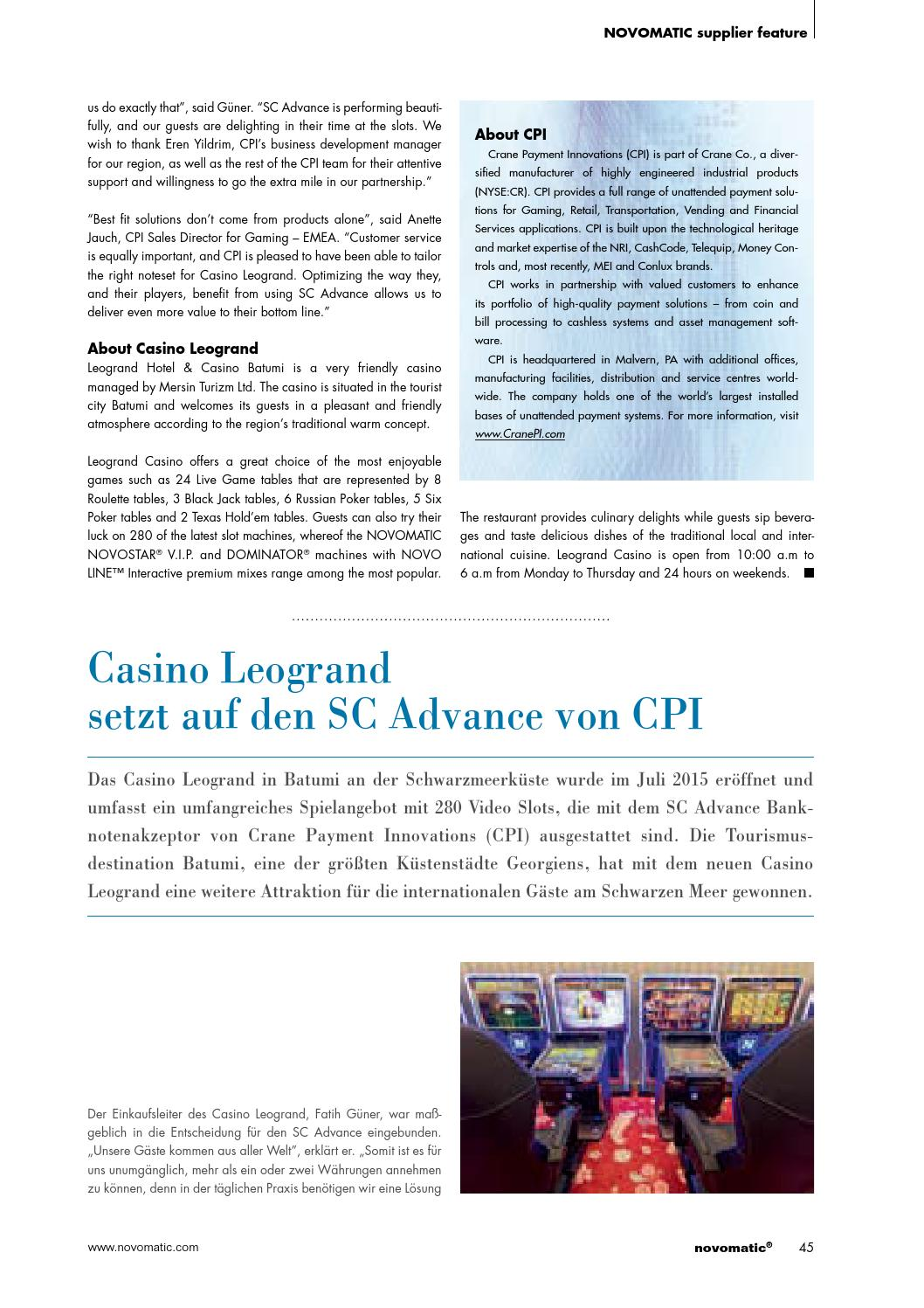 novomatic® – the world of gaming / issue 53 (english & german) by