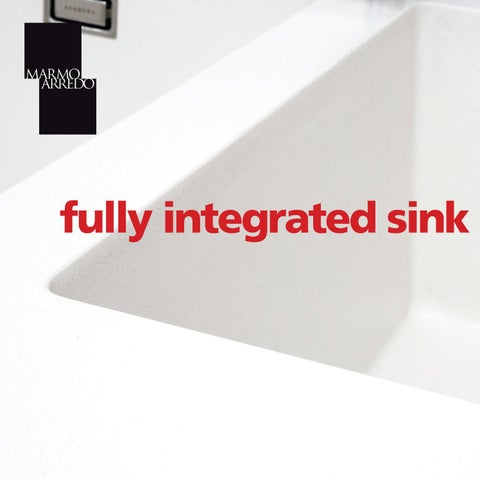 Integrated Sink By Marmo Arredo Issuu